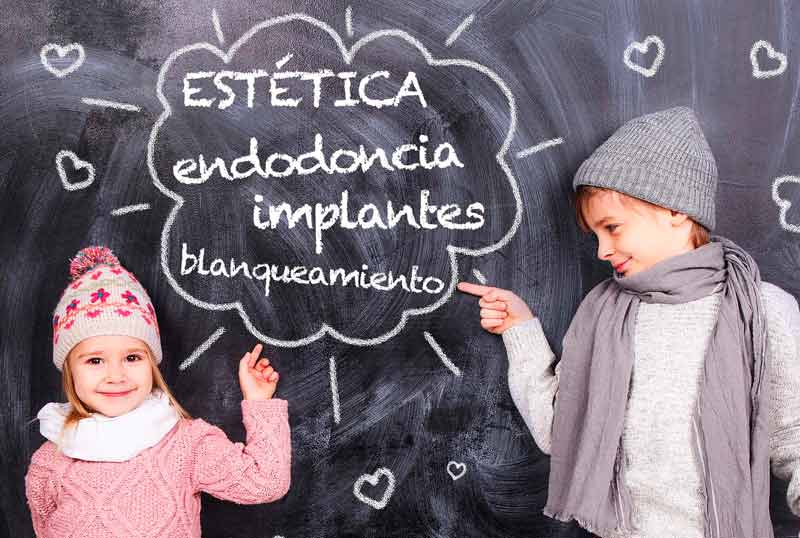 Dentista niños barrio Salamanca Madrid