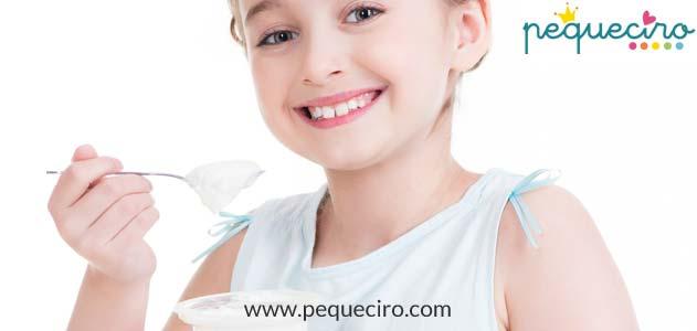 Beneficios yogur niños Dentista niños Madrid