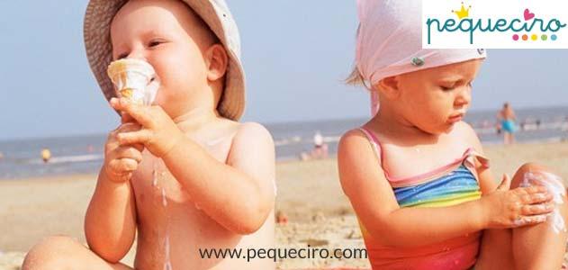 Los bebes pueden comer helado Dentista niños Madrid